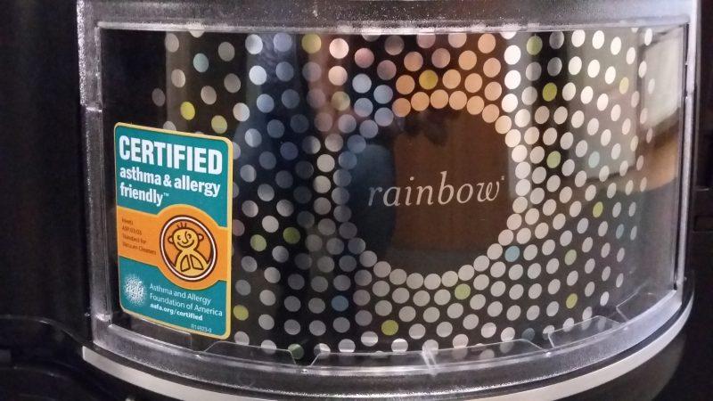 лучший пылесос с аквафильтром рейнбоу