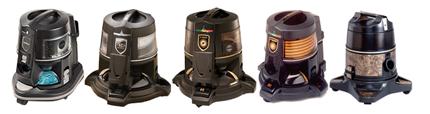 5 моделей пылесосов Rainbow